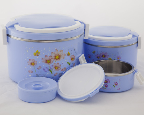 Luxury Tiffin set - Blue