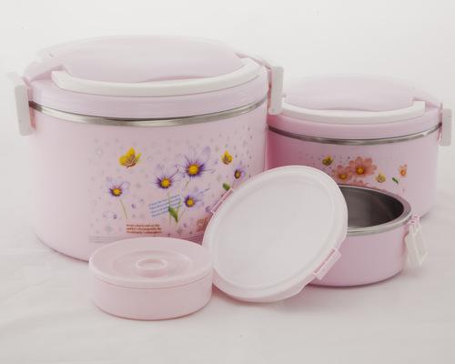 Luxury Tiffin set - Pink
