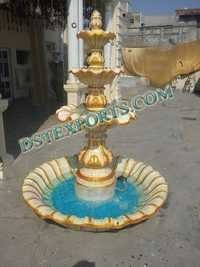 Wedding Decorated Fiber Fountain