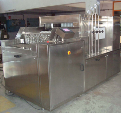 Linear Tunnel Type Bottle Washing Machine