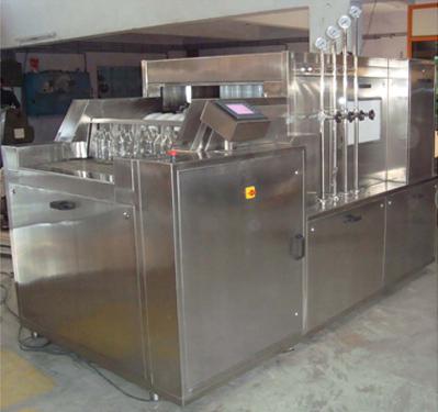 Linear Tunnel Type Bottle Washing Machine