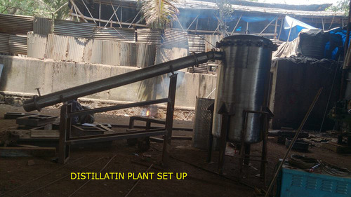 Essential Oil Distillation Plant