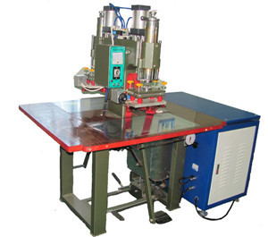 Double stations high frequency plastic welding mac