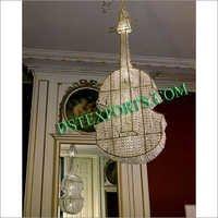 Wedding Crystal Decor Guitar
