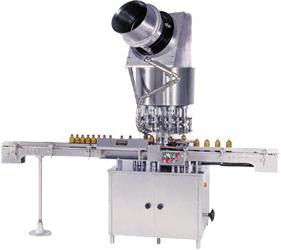 Six Head Ropp Cap Sealing Machine