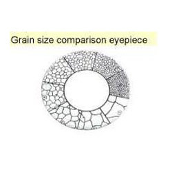 Grain Size Comparison Eyepieces