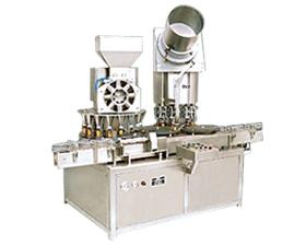 Monoblock Dry Syrup Powder Filling Cap Sealing M/c