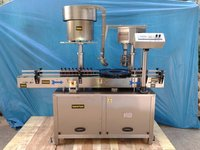 Single Head Bottle Screw Capping Machine