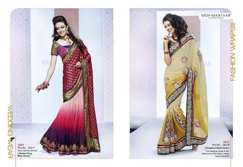 Lengha Style Saree