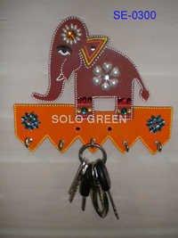 Handmade key hooks