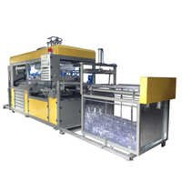 Fully automatic plastic container making machine