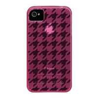 Case-Mate Gelli CM015776 Houndstooth Case for Apple iPhone 4/4S