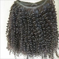 Kinky Curly Human Hair,natural Black Color