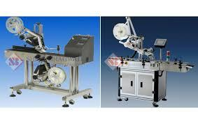 Automatic Top Side Sticker Labelling Machine