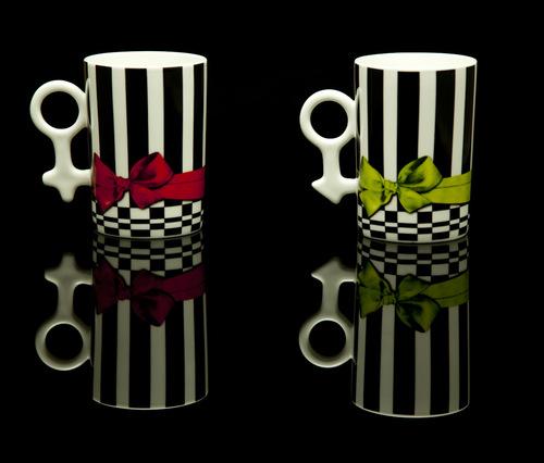 His & Her Mug set - Bows