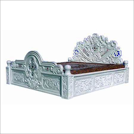 Marble Furniture Cot