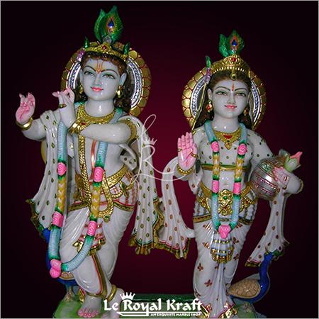 Marble Radhe Shyam Statue