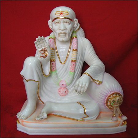 Handicraft Marble Sainath Idol