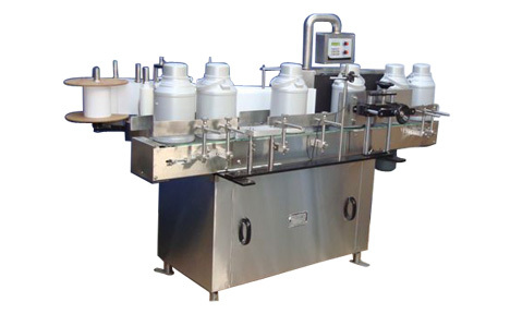 Vertical Sticker Labelling Machine