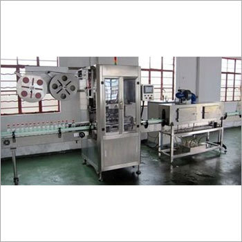Shrink Sleeve Label Applicator Machine