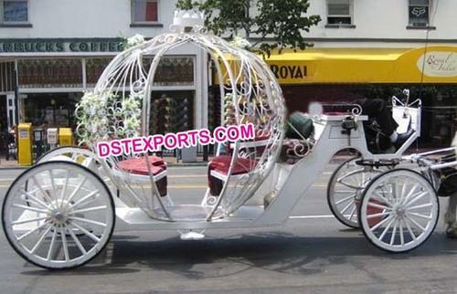 English Bride Cinderella Carriage