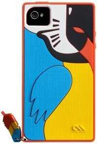 Case-Mate Creatures CM019533 Parrot Case for Apple iPhone 4/4S
