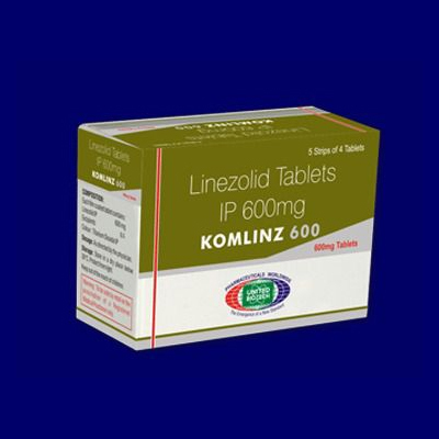 Linezolid Tablets IP 600 mg