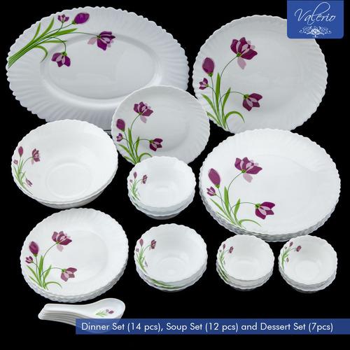 Valerio - Pink Blossom Glassware