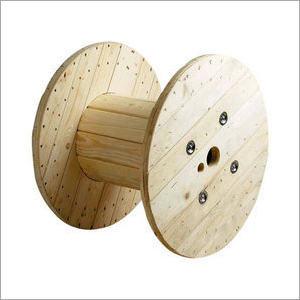 Domestic Wooden Cable Drum