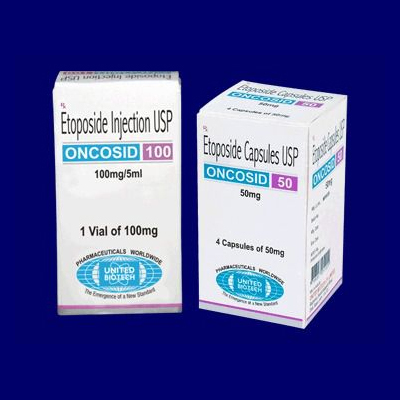Etoposide Injection USP 100mg/5ml