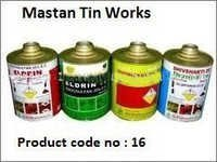 Integrated Top Round Tin Container