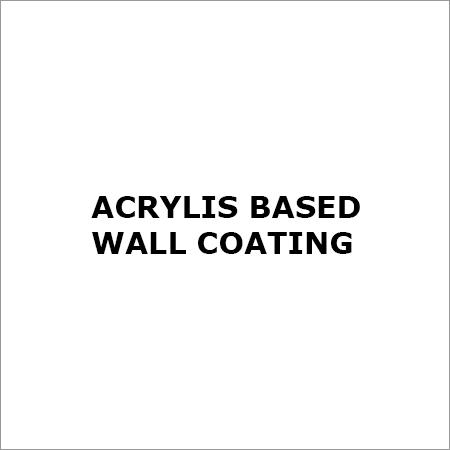 Acrylic Based Wall Coating