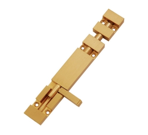 Brass Rectangle Tower Bolts