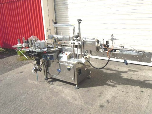 KING Model LH5 Self Adhesive Labelling Machine