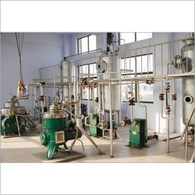 Edible Oil Refining Plants