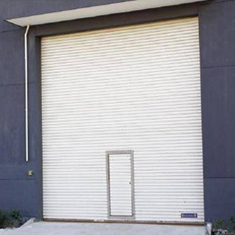 Rolling Shutter With Wicket Doors