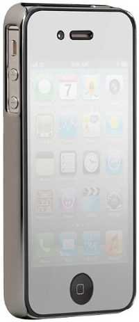 Case-Mate BT CM015351 Barely There Case for Apple iPhone 4/4S (Chrome)