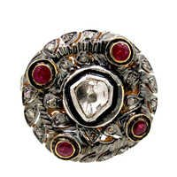 Diamond Ruby Gold Ring Jewelry