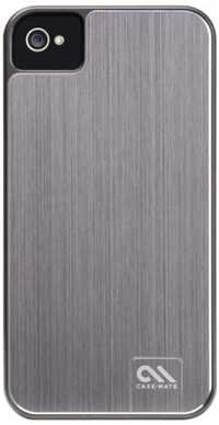 Case-Mate BA CM014540 Barely There Brushed Aluminium Case