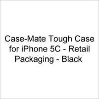 Case-Mate Tough Case for iPhone 5C - Retail Packaging - Black