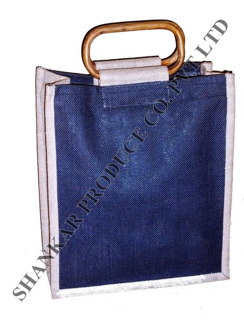 Cane Handle Jute Bags