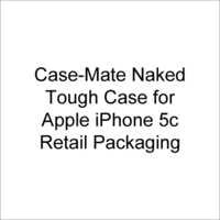 Case-Mate Naked Tough Case for Apple iPhone 5c - Retail Packaging