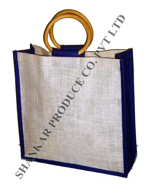 Jute Round Shape Cane Bag