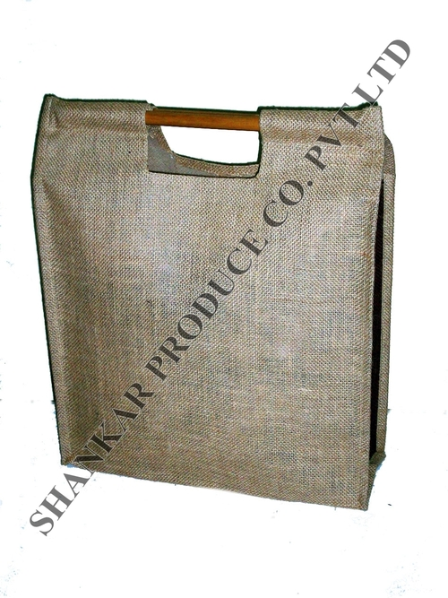 Bamboo Handle Bazaar Bag