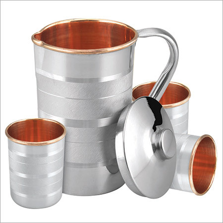 Steel Copper Lemon Set