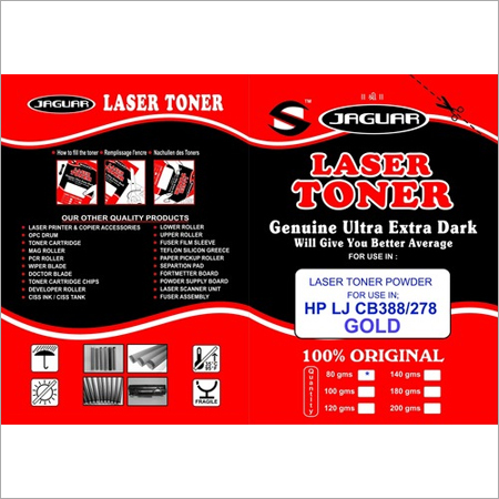 HP LASER JET CB388 TONER POWDER