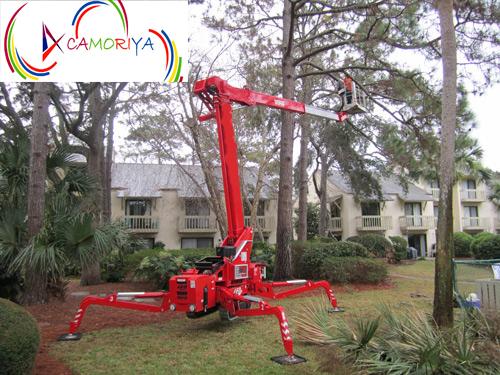 Spider Boom Cherry Picker Platform
