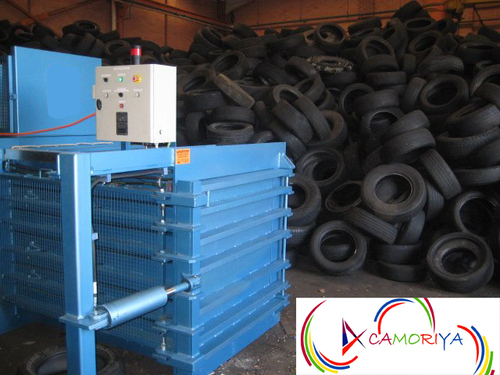 Tyre Horizontal Baling Press