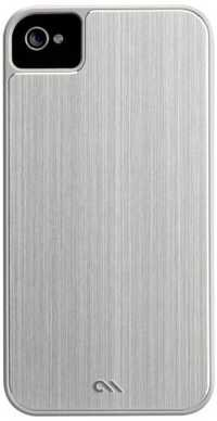 Case-Mate BA CM018993 Barely There Brushed Aluminium Case