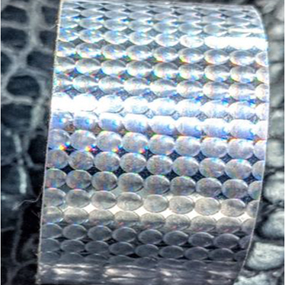 Holographic Cracked Ice Tape